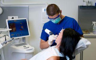 digitális fogászat szájszkennerrel